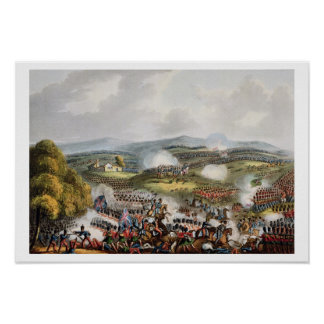 Battle of Quatre Bras, June 16th 1815, from 'The M Poster