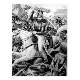 Battle of Resaca de la Palma. May 1846_War Image Postcard
