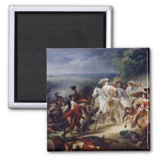 Battle of Rocroy, 19th May 1643, 1834 2 Inch Square Magnet