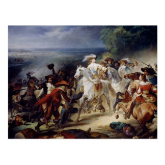 Battle of Rocroy, 19th May 1643, 1834 Postcard