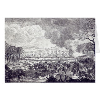 Battle of Rossbach, November 5th 1757 Greeting Card