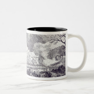 Battle of Rossbach, November 5th 1757 Two-Tone Coffee Mug