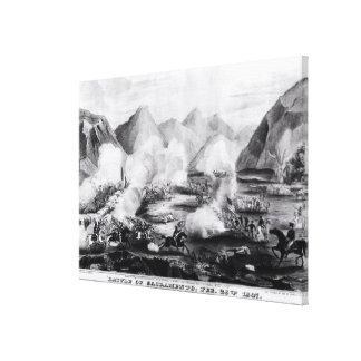 Battle of Sacramento Canvas Prints