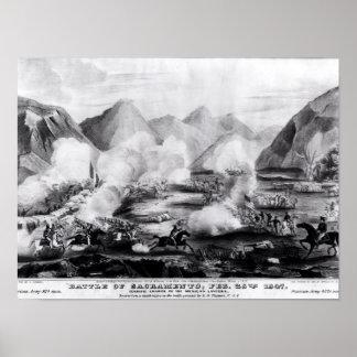 Battle of Sacramento Poster