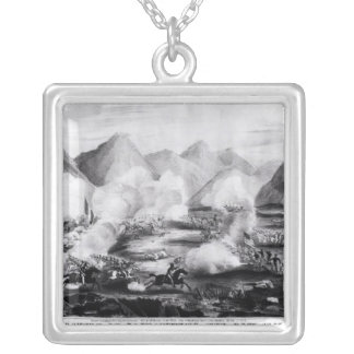 Battle of Sacramento Silver Plated Necklace