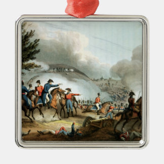 Battle of Salamanca,etched by J. Clarke Metal Ornament