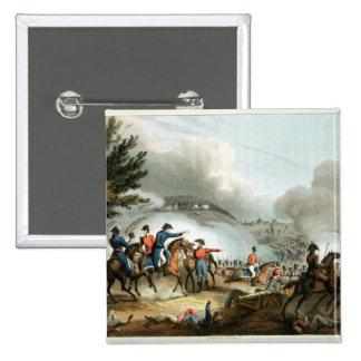 Battle of Salamanca,etched by J. Clarke Pinback Button