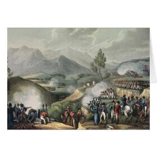 Battle of Salamonda, May 16th, 1809 Greeting Card