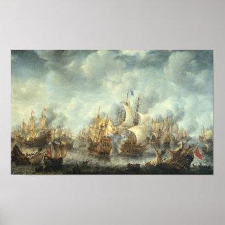 Battle of Scheveningen Poster