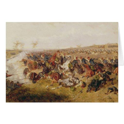 Battle of Schweinschaedel, 29th July 1866 Card