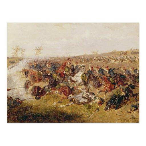 Battle of Schweinschaedel, 29th July 1866 Postcards