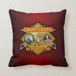 Battle of Sharpsburg (Antietam) Throw Pillow