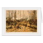 Battle of Shiloh by Thure de Thulstrup 1888 Card