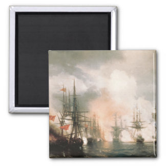 Battle of Sinop Daytime 2 Inch Square Magnet