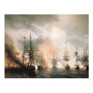 Battle of Sinop Daytime Postcard