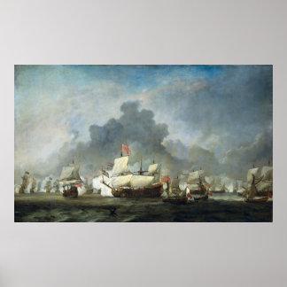 Battle of Solebay Poster