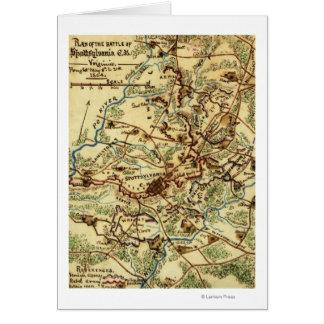 Battle of Spotsylvania Court House Card