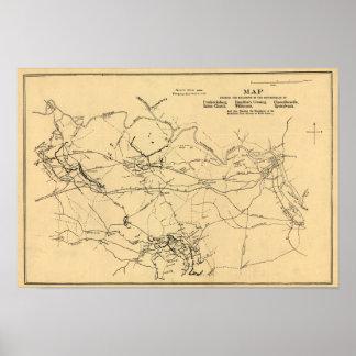 Battle of Spotsylvania Court House Poster