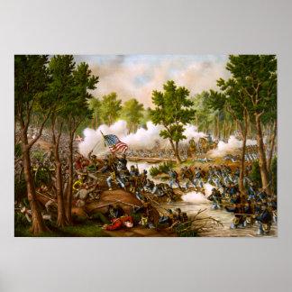 Battle of Spotsylvania Poster