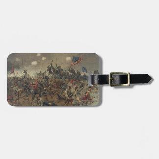 Battle of Spottsylvania by L. Prang & Co. (1887) Bag Tag