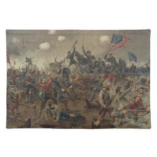 Battle of Spottsylvania by L. Prang & Co. (1887) Cloth Placemat