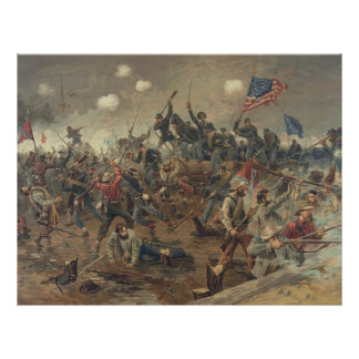 Battle of Spottsylvania by L. Prang & Co. (1887) Letterhead