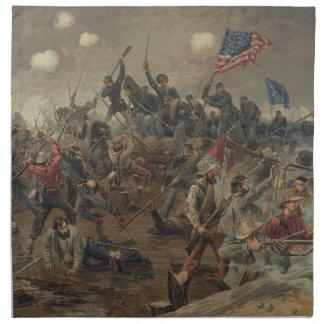 Battle of Spottsylvania by L. Prang & Co. (1887) Napkin