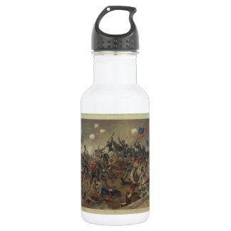 Battle of Spottsylvania by L. Prang & Co. (1887) Stainless Steel Water Bottle