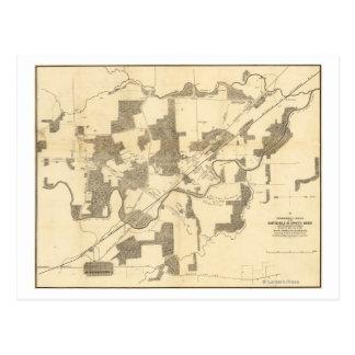 Battle of Stones River - Civil War Panoramic 2 Postcard