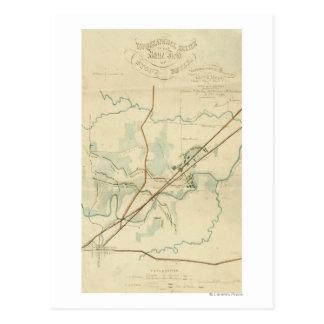 Battle of Stones River - Civil War Panoramic Postcard