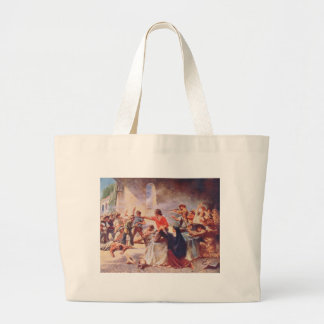 Battle of the Alamo by Percy Moran Bags