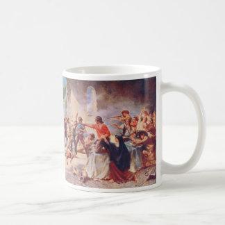 Battle of the Alamo by Percy Moran Coffee Mug