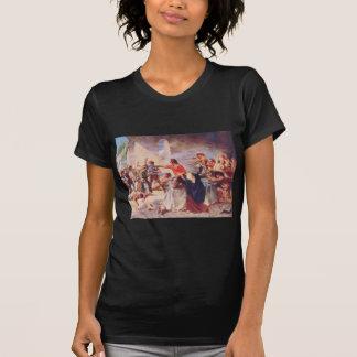 Battle of the Alamo by Percy Moran Tshirts