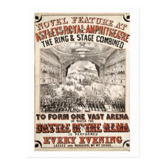 Battle Of The Alma Postcard