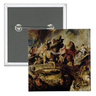 Battle of the Amazons and Greeks , c.1617 Pinback Button