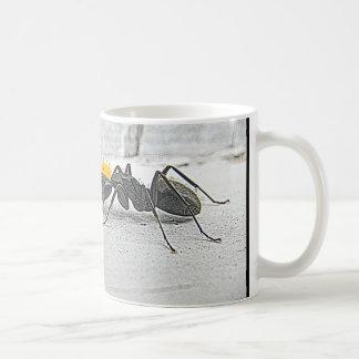 Battle of the Ant King Classic White Coffee Mug