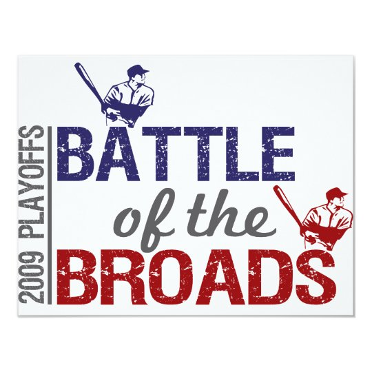 Battle of the Broads Card