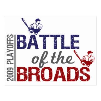 Battle of the Broads Postcard