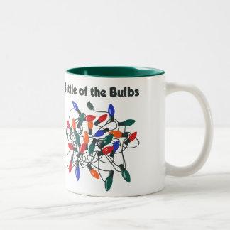 Battle of the Bulbs Two-Tone Coffee Mug