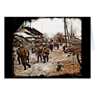 Battle of the Bulge Recon Greeting Cards