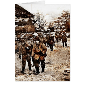 Battle of the Bulge Recon Card