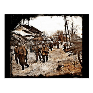 Battle of the Bulge Recon Postcard