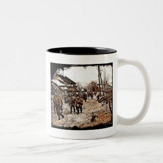 Battle of the Bulge Recon Two-Tone Coffee Mug