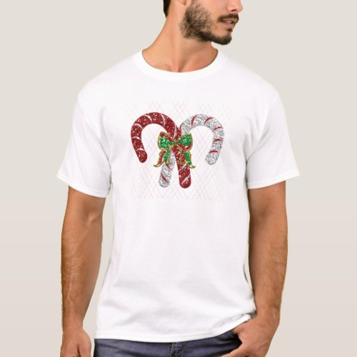 Battle of the Candy Canes T-Shirt