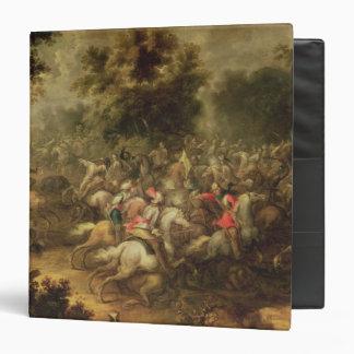 Battle of the cavalrymen 3 ring binder