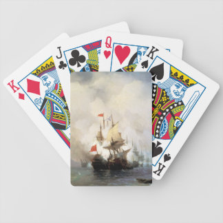 Battle of the Chios Strait Bicycle Playing Cards