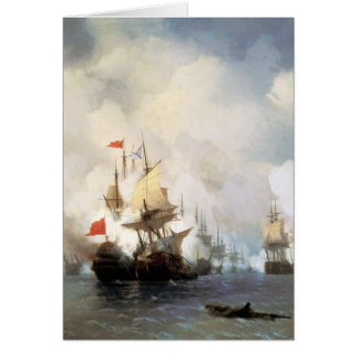Battle of the Chios Strait Greeting Card