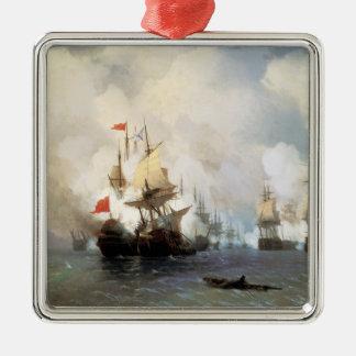 Battle of the Chios Strait Metal Ornament