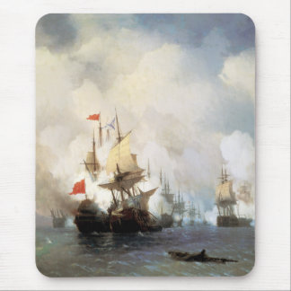 Battle of the Chios Strait Mouse Pad