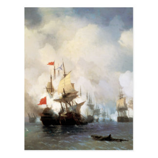 Battle of the Chios Strait Postcard